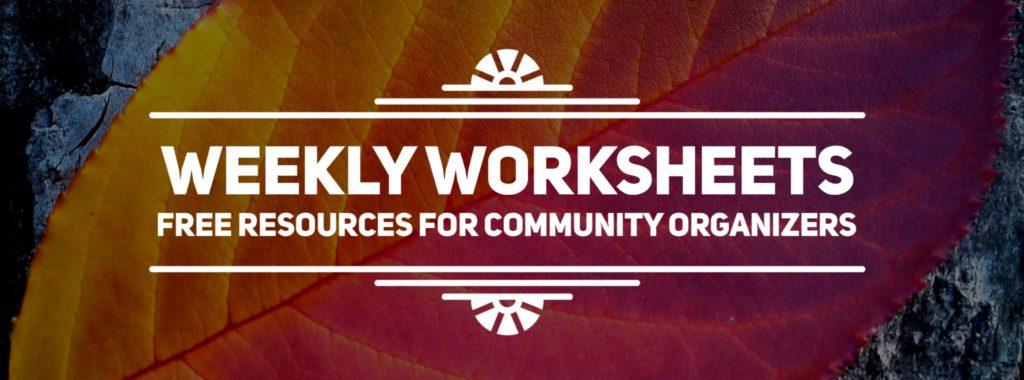 weekly-worksheets